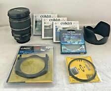Canon EF-S 17-55mm F/2.8 IS USM Lens & hood + extra professional filters