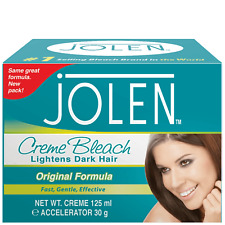 Jolen Creme Bleach Lightens Dark Hair 125ml