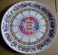 Wedgwood Collectors Plate CAMELOT - CALENDAR PLATE FOURTH SERIES 1974 Boxed