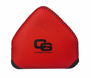 Club Glove Gloveskin 2 Ball Mallet Putter Cover - Right Hand - Red