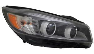 Right Passenger Side Halogen Headlight For 2016-2018 Kia Sorento LED Light Bar