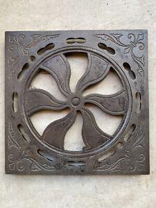 I. A . SHEPPARD Antique Philadelphia & Baltimore Cast Iron Antique Grate c1890