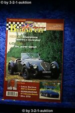British Classic Sports Car Nr.9 1996 deutsch Lotus Six Mini GTO