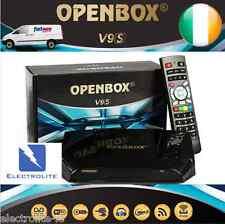 Genuine Openbox V9S Satellite IPTV TV Box WiFi+VOD &Next Day Delivery in Ireland