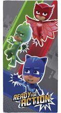 P J Masks Children's Kids Beach Swim Towel Catboy Owlette & Gekko 100% Cotton