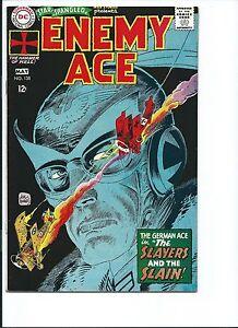 STAR SPANGLED WAR STORIES 138 - VF 8.0 - NEW ENEMY ACE - KUBERT ARTWORK - (1968)