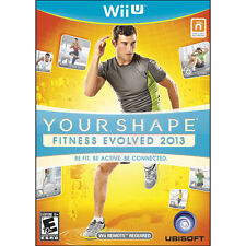 Your Shape: Fitness Evolved 2013 [Nintendo Wii U, NTSC Video Game, Exercise] NEW