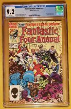 Fantastic Four Annual 18 (CGC 9.2) - Black Bolt, Medusa Wedding - Inhumans App.