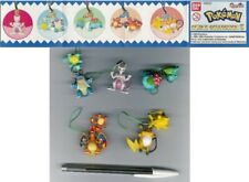 SET 5 Figure POKEMON SWING COLLECTION Part 3 DANGLERS Originali BANDAI Rare