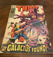 The Mighty Thor, Galactus Found Comic Book #168 Sep. 1969 SUPER RARE
