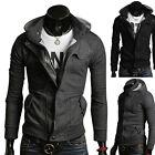Hot Cheap Mens Stylish Hooded Coat Slim Fit Jackets Overcoats Hoody Tops Outwear