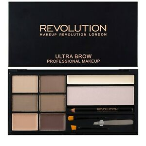 Makeup Revolution Brow Palette Fair to Medium Eyebrow Kit