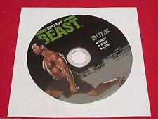 BODY BEAST - BULK: CHEST + BACK + LEGS - New Fitness DVD
