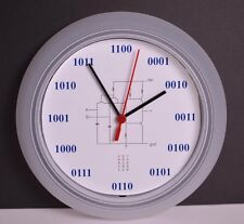Analog Binary Geek Wall Clock