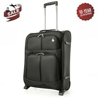 Aerolite Expandable Cabin Luggage Bag Suitcase 55x40x20cm to 55x40x23cm Ryanair
