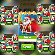 25x Santa ### Coin Master Cards (Fastest Delivery)