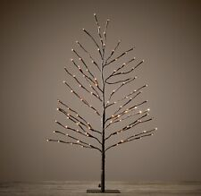 Restoration Hardware Bark Starlit Tree 3 FT Christmas Decor NWT!