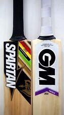 "New Model Pack of 2 Pcs GM MOGUL 202 + SPARTAN CG ""Free Shipping"" Cricket Bats"