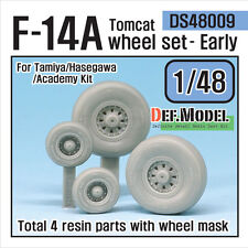 DEF.MODEL, F-14A Tomcat Wheel set-Early (for TAMIYA 1/48), DS48009