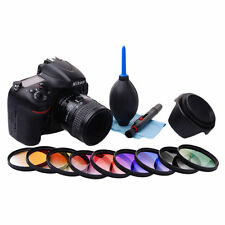 52mm Degradado Color Filtro Kit para Nikon D3300 D5300 D7100 D800 D600 D4s LF496