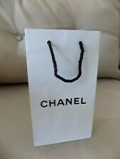 CHANEL Small Paper Bag White