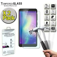 2 Pack Tempered Glass Screen Protector Cover For ZTE Blade A5