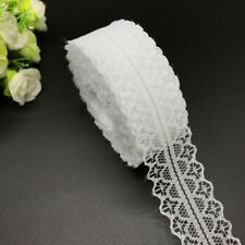 10yards Lot Lace Ribbon Trim Fabric Handcraft Embroidered Diy Sewing Accessories