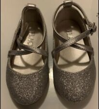 The Children's Place toddler girl silver shoes (size 5)