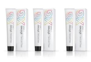 Paul Mitchell Shines DEMI PERM Dye Smart XG Haircolor 9V 9/6 3 Pack