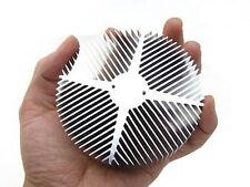 Aluminum heat sink 1 - 10 watt Luxeon LED 90x30mm heatsink fan