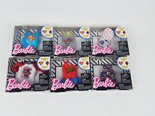 Barbie DC Comics Fashions Shirts Harley Quinn Batgirl Wonder Woman Supergirl lot