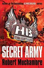 Secret Army: Book 3 (Henderson's Boys), Muchamore, Robert, Very Good, Paperback