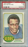 1976 Topps Football #148 Walter Payton Rookie Card RC Graded PSA EX 5 Bears