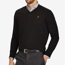 58f3fdfdc Polo Ralph Lauren Black V-Neck Sweaters for Men for sale