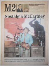 M2 31 Mayo 2004 Paul McCartney Concierto Madrid Peineta Beatles Monica Naranjo