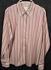 Liz Claiborne Women's Size 14W Top Long Sleeve Button Front Shirt