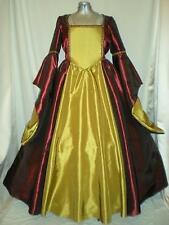 """Tudor Renaissance Medieval Anne Boleyn Dress Gown Your Size Choice Busts 34""""-46"""""""