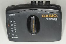 Vintage Casio As-201R Portable Fm/Am/Cassette Player