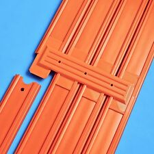 4-Lane Track Connector 6pk- (Compatible with Hot Wheels Race Track)