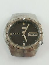 Vintage SEIKO 5 7019-7120 Automatic 17 Jewels Japan Watch Not Working
