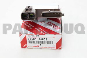 8958134051 Genuine Toyota DRIVER, AIR INJECTION CONTROL 89581-34051