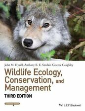 Wildlife Ecology, Conservation, and Management 3rd ed. (Paperback) by Fryxell