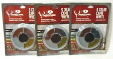 Lot of 3 Mossy Oak 5 Color Hunting Camo Spring Fall Face Paint Mirror Locking
