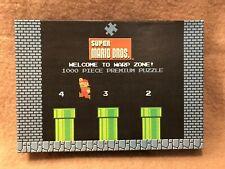 Super Mario Bros Welcome To Warp Zone 1000 Jigsaw Puzzle Nintendo Mario Complete