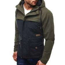Abrigos y chaquetas de hombre parka color principal azul 100% algodón