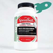 Speedball Diazo Photo Emulsion Remover for screen printing - 236ml