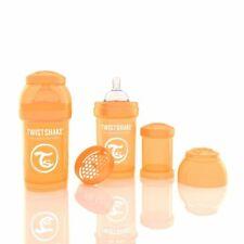 Twistshake Anti-Colic Bpa Free Baby Formula Feeding Mixer 6 oz Bottle - Orange