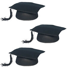 SPARPACK! Hut Doktor, schwarz, 12 Stk. Doktorhut Magister Absolvent