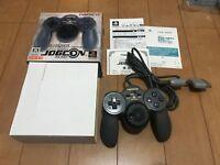 PS1 JOGCON SLPH-00126 Controller NAMCO PlayStation BOX and Manual Set