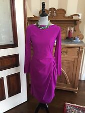 $695 LA PETITE ROBE DI CHIARA BONI PINK SHEATH DRESS NWT SZ 48/12 NWT